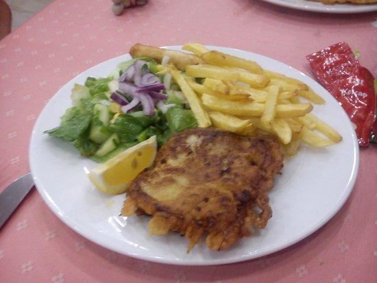 Oasis Hotel: Ужин так ужин