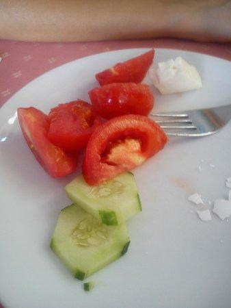 Oasis Hotel: Завтрак ... Мда )