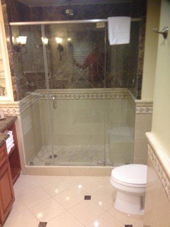 Omni La Costa Resort and Spa: shower but no bath tub