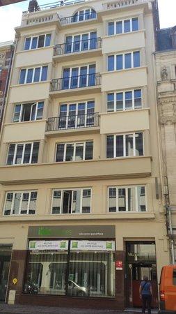 Ibis Styles Lille Centre Grand Place : facade de l'hôtel