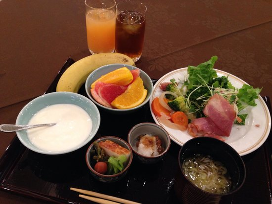 Central Hotel: 朝食