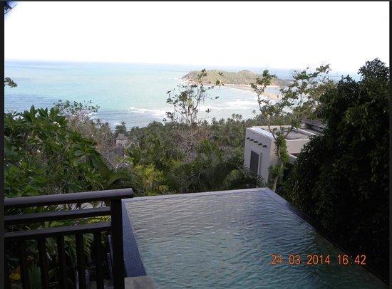 Bhundhari Spa Resort & Villas Samui : View from balcony