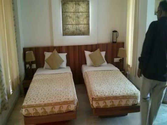 Hotel Chitvan : The Hotel room