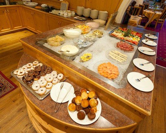 Activ Sunny Hotel Sonne: Frühstücksbuffet