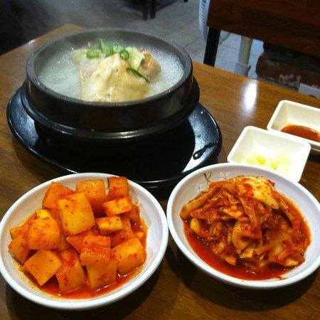 Korea Ginseng Chicken Soup