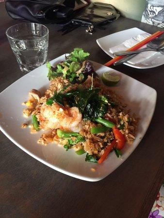 The Rice Den: Tom yum rice