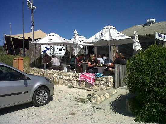 Pelican's Harbour Cafe: On the harbour