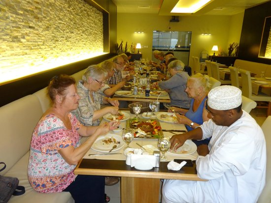 Grand Lounge Turkish Cuisine: happy custemers from france