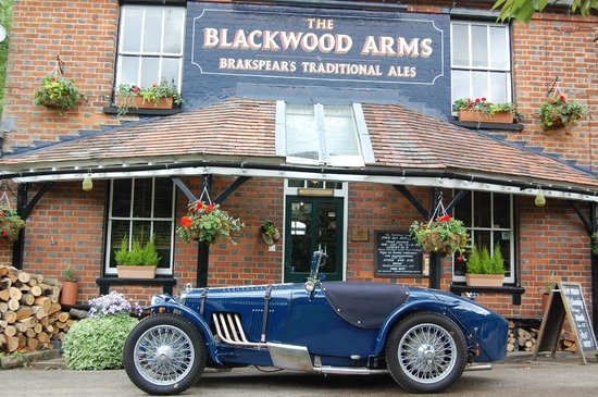 The Blackwood Arms Country Inn: more fun