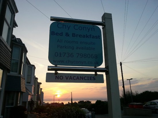 Chy Conyn Bed & Breakfast: Sunrise @ Chy Conyn