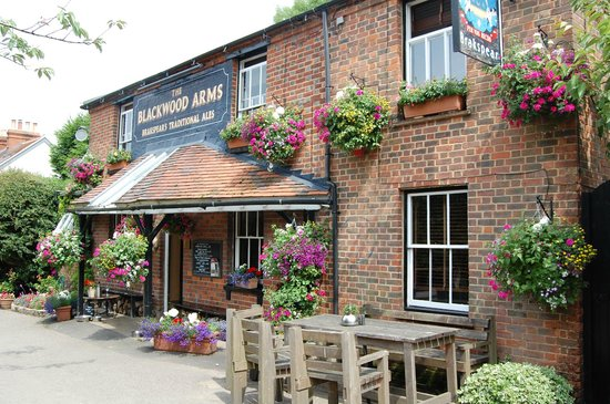 The Blackwood Arms Country Inn: More flowers