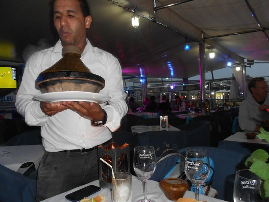 Le Nil Bleu : servi en plat typique