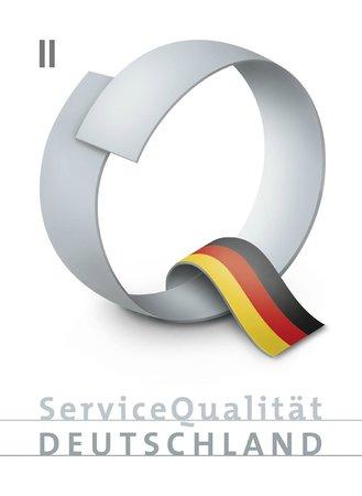 Hotel Central: Wir sind ausgezeichnet mit der Servicequalität der Stufe II