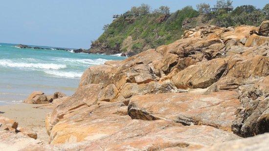 The Beach Retreat Coolum: On the beach view
