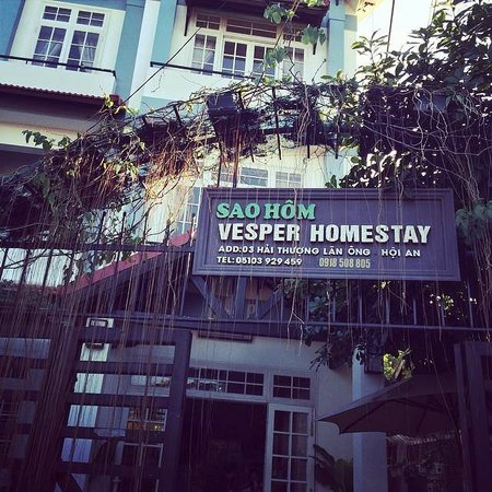 Vesper Homestay: Entrance