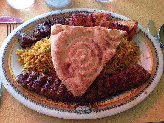 Emperor platter foto di sameem afghan restaurant saint for Afghan cuisine manchester