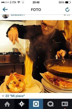 Conte Castiglione: ecco lo chef all'opera!