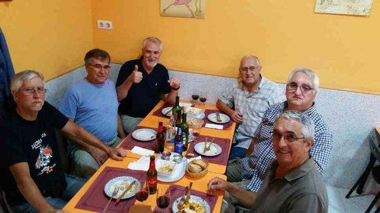 Restaurante Luisy : Reunión de hermanos