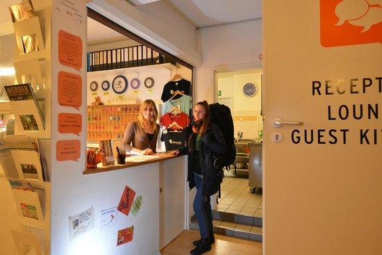 Townside Hostel Bremen : Rezeption