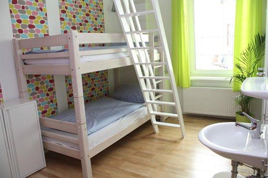 Townside Hostel Bremen : Mehrbettzimmer Komort