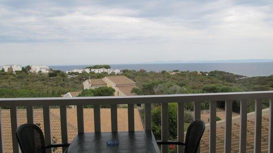 Park Hotel Asinara: Vue du balcon de notre chambre