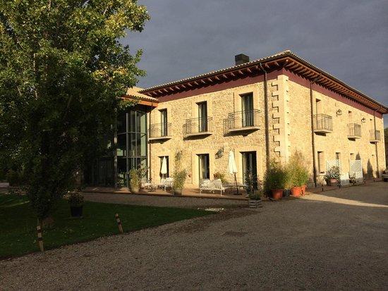 Hotel Villa Marcilla: Fachada hotel