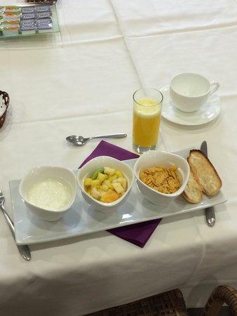 Hotel Villa Marcilla: Desayuno