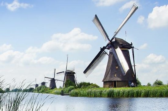 Holandia: Windmill in Holland