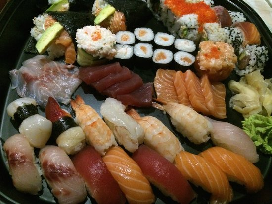 ZUSHi Verona Japanese Restaurants: delizie