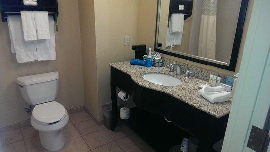 Hampton Inn & Suites Moreno Valley: Bathroom