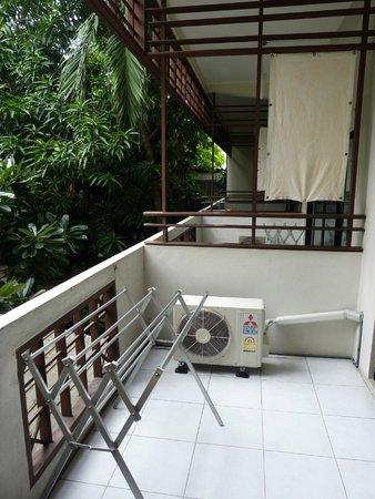 Lamphu House: Balkon