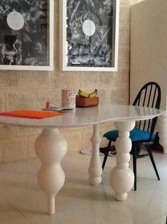 Indulgence Divine: Dining area