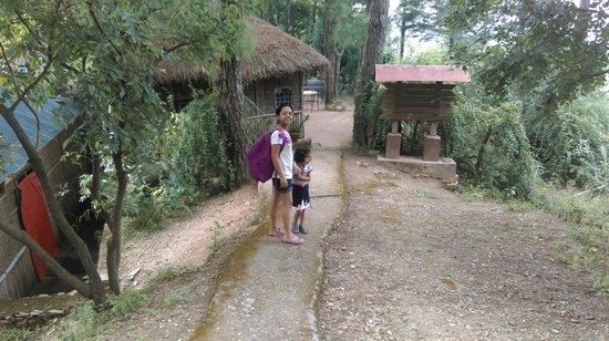 Park Woods Shoghi: entrance