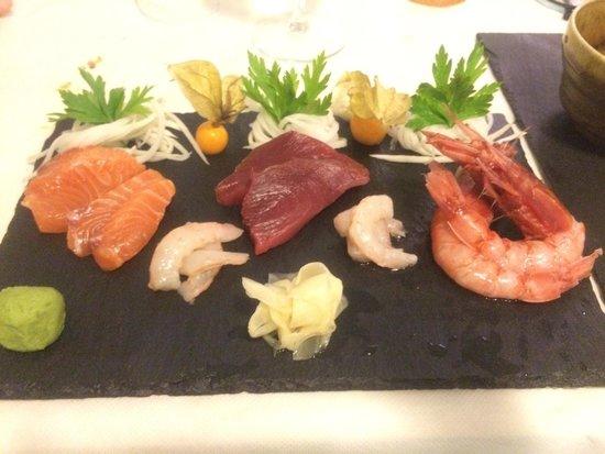 La Pescheria : Sashimi di pesce top !!