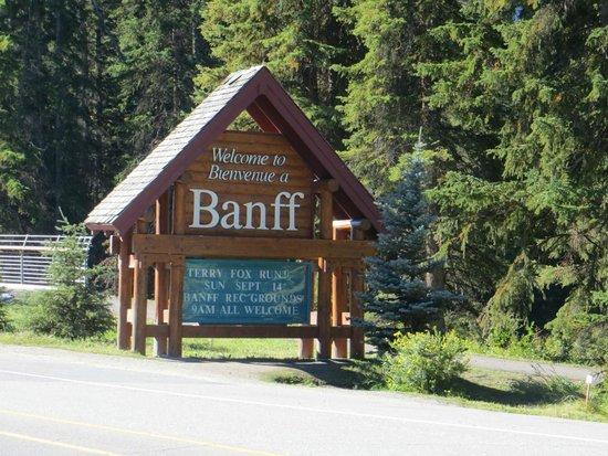 Charlton's Banff: ingresso città