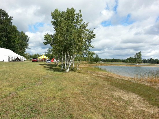 Lucky Lake Campground : Plenty of room for private events.  Family, corporate outings, church, school-- some just for th