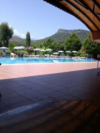 Larissa Blue Resort: Утро.)