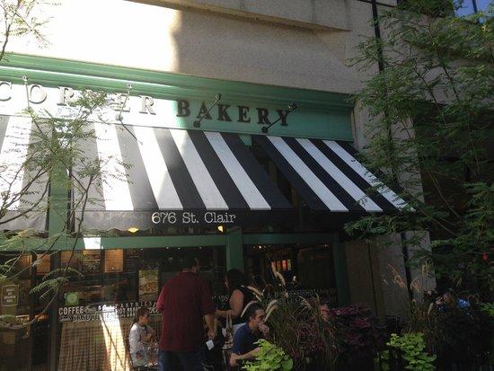 Corner Bakery Cafe : esterno del locale
