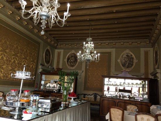 Palazzo Paruta: Breakfast room