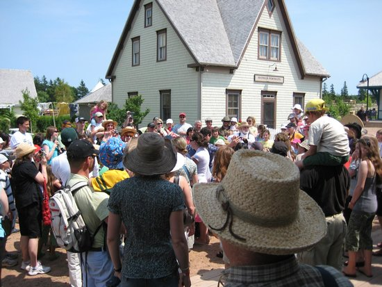 Avonlea Village : Visitors from around the world