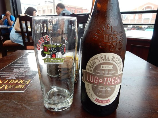Aulde Dubliner & Pour House : The local beer