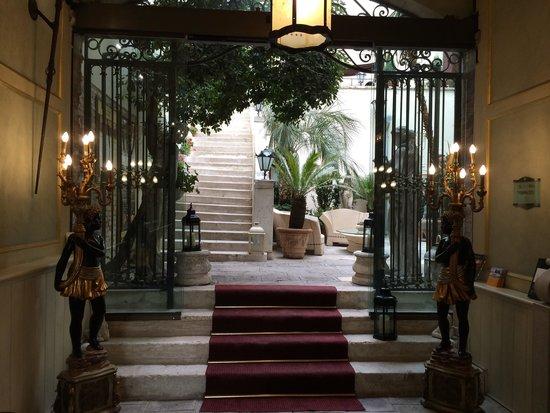 Palazzo Paruta: Reception area