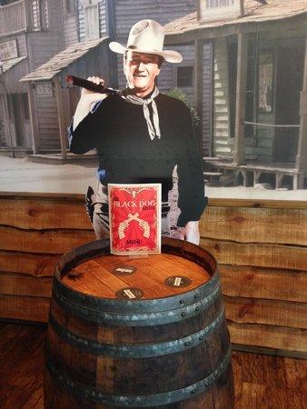 john wayne at The Black Dog Saloon