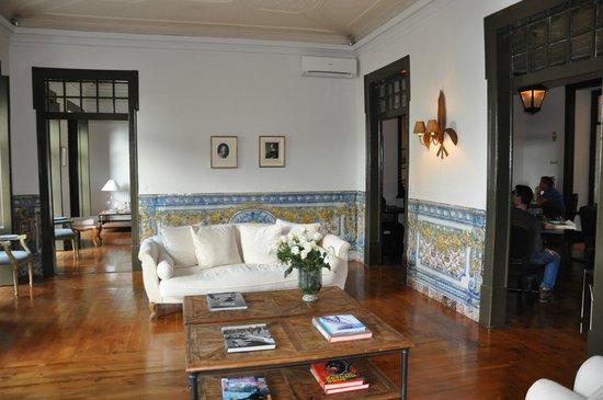 Palacio Ramalhete: Living room
