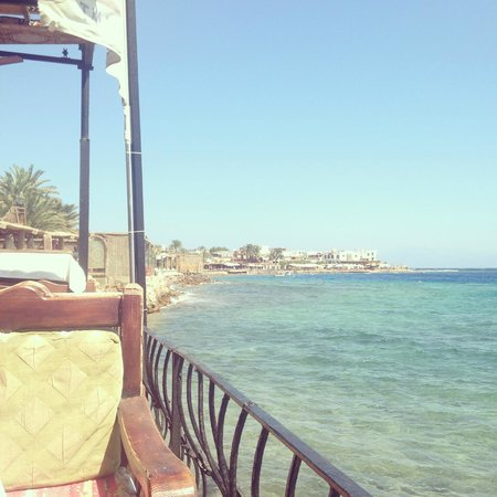 Ali Baba Restaurant: The View