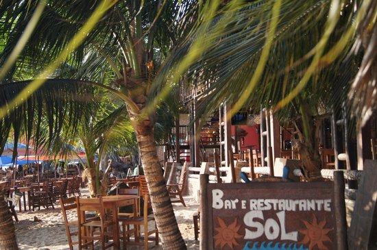 Pousada Capitão Thomaz: Bar e Restaurante Sol