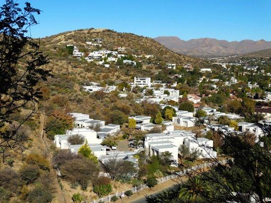 Hotel Thule: View on Klein Windhoek