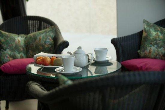 Wintergarten Speyer kaffee und kuchen im wintergarten foto di hotel residenz am
