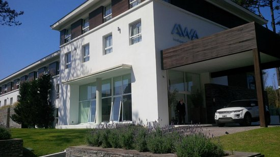 Awa Boutique and Design Hotel: Frente do Hotel