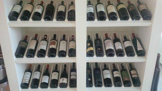 Awa Boutique and Design Hotel: Excelentes vinhos